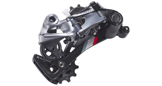 SRAM XX1 MTB gear Type 2.1, 11-speed, langt bur sort/sølv